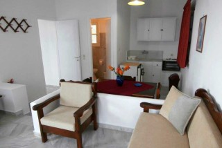 accommodation galini bungalows living room