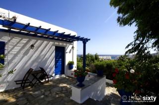 facilities galini bungalows balcony