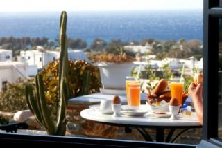 facilities galini bungalows breakfast