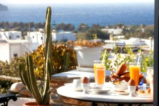 facilities galini bungalows greek breakfast