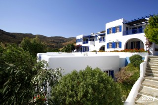 galini bungalows hotel in tinos